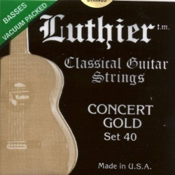 Luthier ON40 Concert Gold