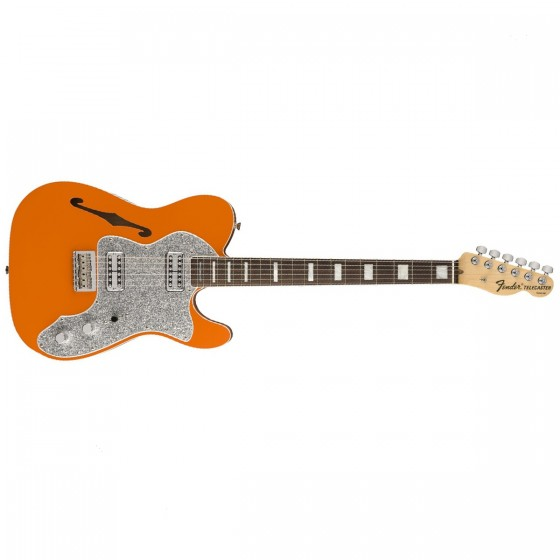 Fender Tele Thinline Super Deluxe RW Orange Limited Edition