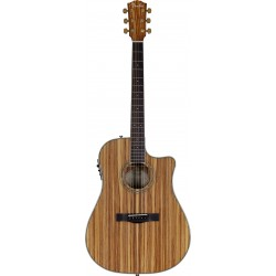FENDER CD220CE All Zebrano