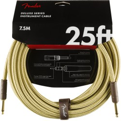 Fender Deluxe Series Cable Instrumento 7.5m Tweed
