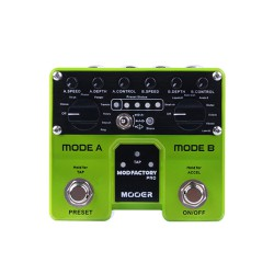 Mooer Mod Factory Pro Dual Engine Modulation