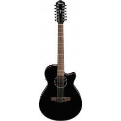 Ibanez AEG5012 Black High Gloss