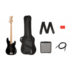 Fender Squier Pack Affinity Precision Bass MN Black
