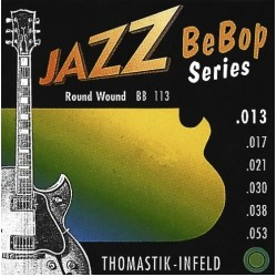 Thomastik Juego BB113 Jazz Bebop 13-53 Medium Light