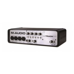 M-AUDIO M-Track Quad Audio USB 4 Interface