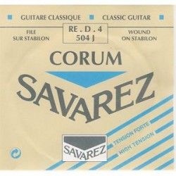 Savarez 504CJ Corum 4 Cuerda Tension Fuerte