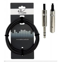 ALPHA AUDIO Extension de Auriculares Jack 3 Metros