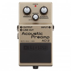 BOSS AD-2 Acoustic Preamp