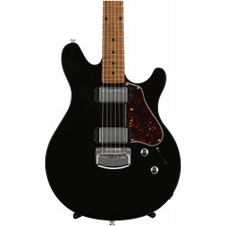 Music Man Valentine Trans Black