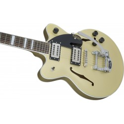 GRETSCH G2655T Streamliner DC JR Bigsby Golddust