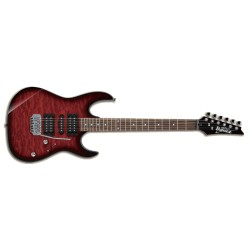 Ibanez GRX70QA-TRB Transparent Red Sunburst