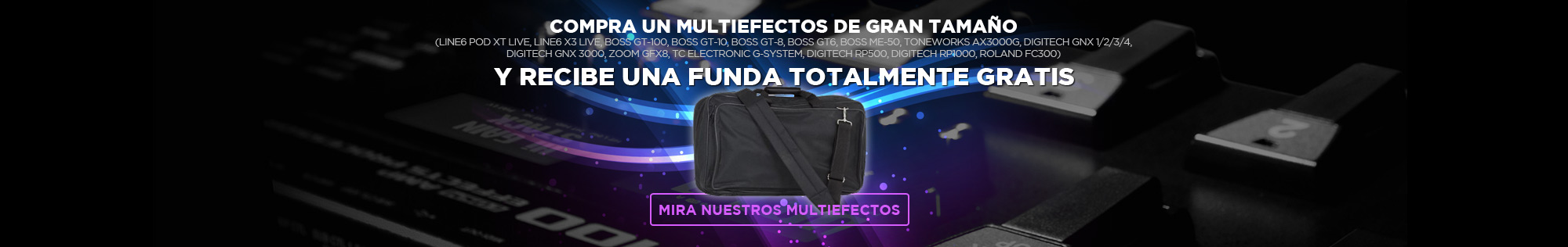 Regalo funda Multiefectos